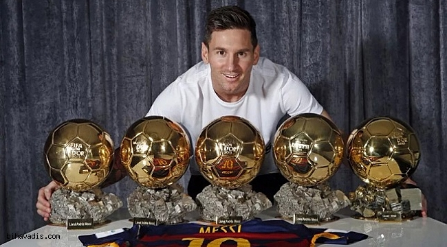 Ballon d'Or'un Lideri Messi