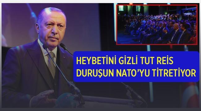 Cumhurbaşkanı Erdoğan'a Alkış Tufanı Koparan Şiir
