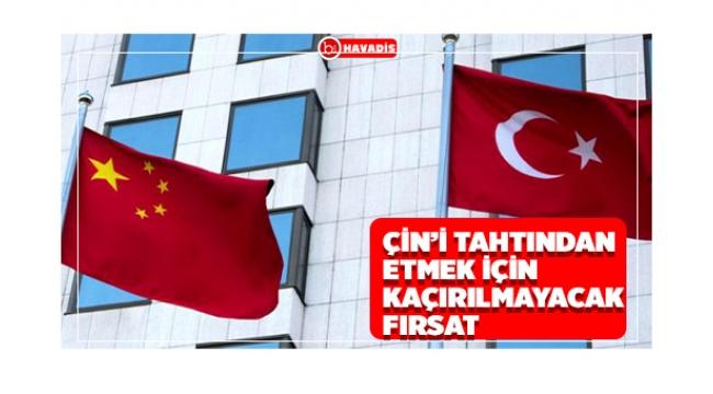 Türkiye Fırsatı Değerlendirirse Çin'i Tahtından edebilir
