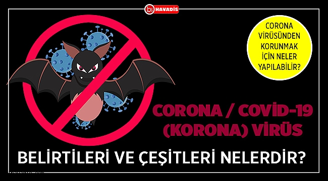 Corona / Covid-19 (Korona) Virüs Belirtileri ve Çeşitleri Nelerdir?