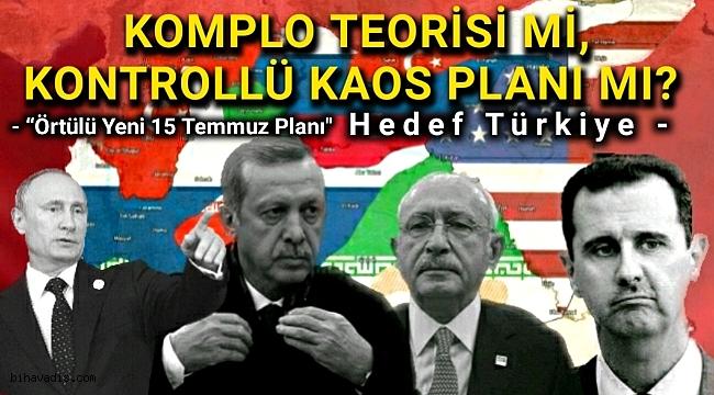 """Yeni 15 Temmuz Planları """"Hedef Türkiye"""""""