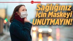 56 İlde Maskesiz Dolaşmak Artık Yasak