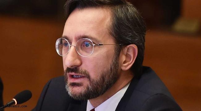 İletişim Başkanı Fahrettin Altun Pençe -Kartal operasyonu hayırlı olsun