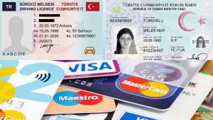 Kimlik kartı, Banka kartı ve Ehliyet artık Bir Arada
