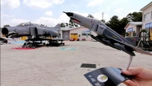 Aksu Uçak Bakım Lisesinin Artık Yeni Bir Savaş Uçagı Var