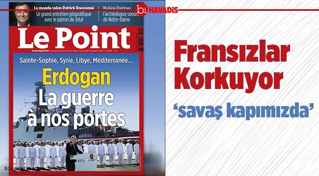 Fransız Le Point dergisinde gündem, Türkiye