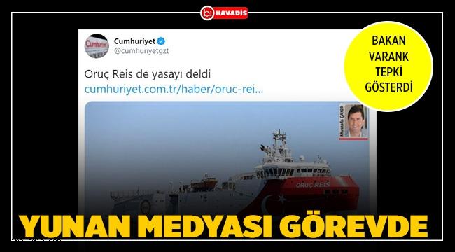Yunan medyası görevde