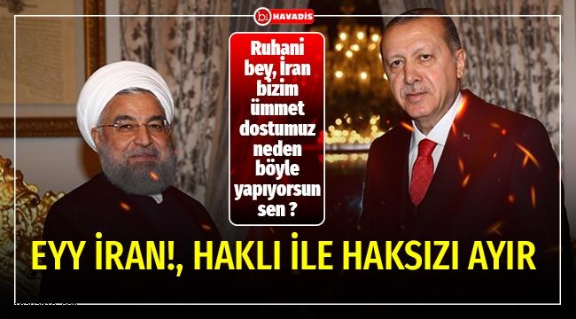 Başkomutan Recep Tayyip Erdoğan, İran Cumhurbaşkanı Hasan Ruhani'yle görüştü