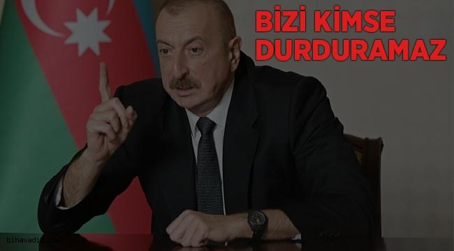 İlham Aliyev ''Doğru bir yoldayız ve sonuna kadar bu yolda gideceğiz''