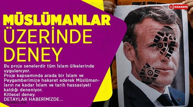Müslümanlar üzerinde yapılan deney İslam'a ve Peygambere hakaret