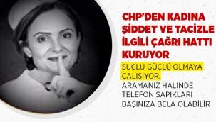 CHP'den kadına karşı şiddetle mücadele için acil çağrı hattı