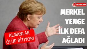 Merkel'in, koronavirüsten 590 ölüm üzüntüsüne dayanamadı