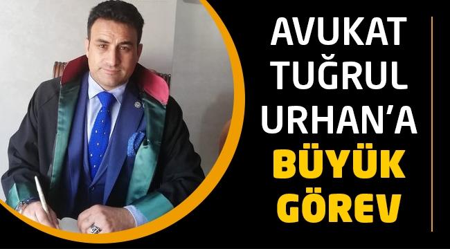 Avukat Tuğrul Urhan'a Büyük Görev | İstanbul 2 No'lu Barosu