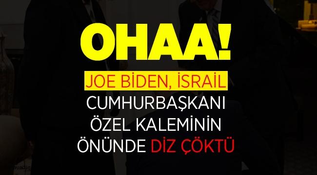 Joe Biden, İsrail önünde diz çöktü