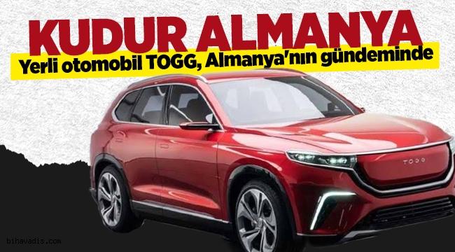 Yerli otomobil TOGG, Almanların dilinde