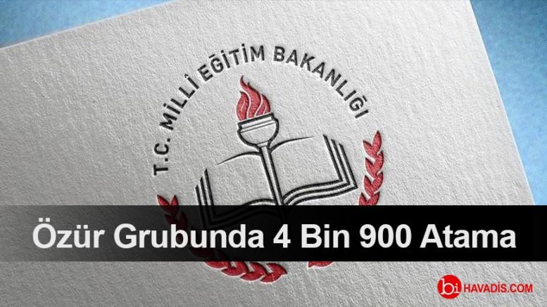 4 Bin 900 Öğretmenin Ataması Yapıldı