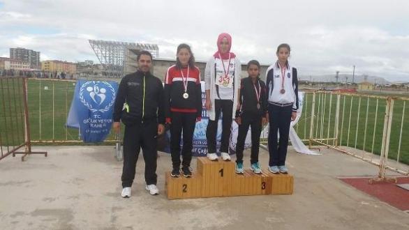 Boyabatlı Emine Türkiye Şampiyonu...