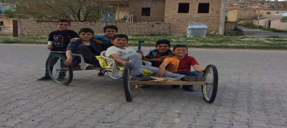 Çocuklar yerli otomobil yapmada çok hevesli!