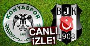 Beşiktaş Atiker Konyaspor maçı kaç kaç?  Beşiktaş Atiker Konyaspor maçı canlı izle  BJK Atiker canlı izle