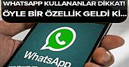 WhatsApp kullananlar dikkat!.