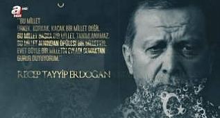 Türk tarihi ve Türkiye'nin yaşadığı dönüm noktalarını anlatan özel bir klip