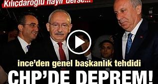 CHP'DE BÜYÜK DEPREM!