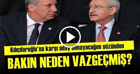 İNCE'DEN İNANILMAZ FLAŞ AÇIKLAMALAR!