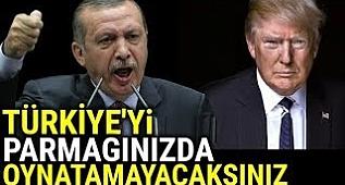 Erdoğan, Amerika'ya Karşı Kazanmak Zorundayız. Başka Çaremiz YOK !