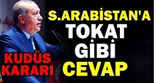 Erdoğan S.Arabistan'a kendine gel Kudüs Düşüyor..!! (ÇOK SİNİRLENDİ)