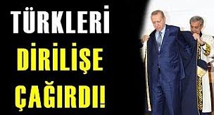 Erdoğan, Kırgızistan'da Türkleri Dirilişe Çağırdı