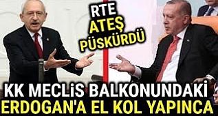 Erdoğan KK'ya HİÇ BU KADAR KIZMAMIŞTI.