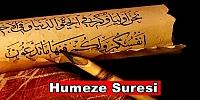 Humeze Suresi