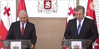 Başbakan Yıldırım ile Gürcistan Başbakanı Kvirikaşvili'nin ortak basın toplantısı