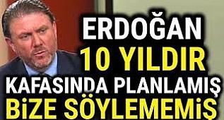 Yigit Bulut Erdoğan'ın Gizli Planını Açıklıyor.
